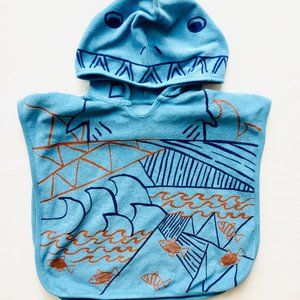 Baby Shark Swim Towel Cover-Up